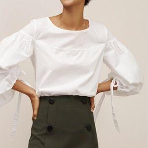 LOFT poet blouse